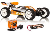 1.SL.BX8.RTR Hobbytech 1/8 Buggy BX8SL version RTR avec accu et chargeur