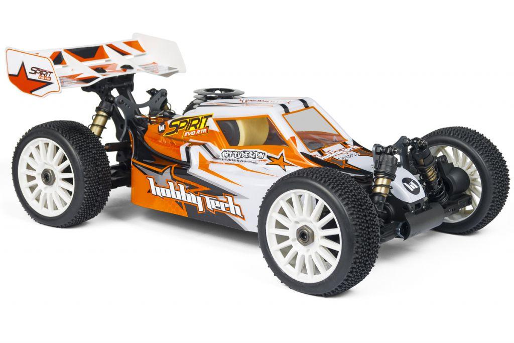 1.SPIRIT.EVO.RTR - SPIRIT EVO RTR (Moteur 21 + carrosserie + radio) - HOBBYTECH voiture thermique