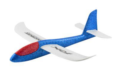 214291 - Planeur Fox lancé main bleu/blanc/rouge Multiplex