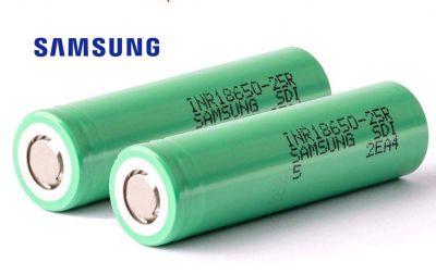 25R - Paire de batterie Li-Ion 2500mAh 3,6v pour Funtek DT4 ou MT4