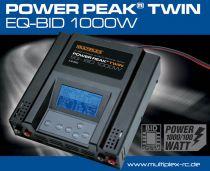 308563 - Chargeur Power Peak twin EQ-BID 1000W Multiplex