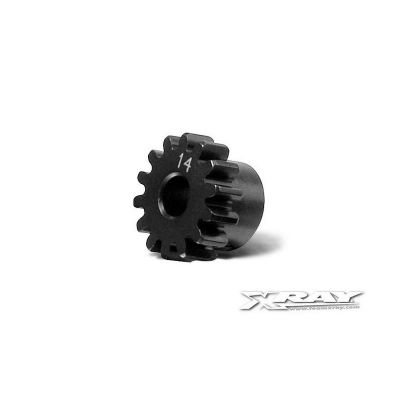 355714 - XB808E Pignon 14 dents - Pièce détachée XRAY