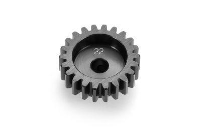 355822 - Pignon 22T alu traité dur - Pièce détachée XRAY
