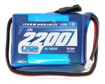 430350 LRP - Accu de réception RX Lipo 2200mah 7.4v