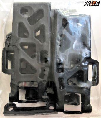 500405739 - Set complet de triangles av/ar (4) pour Bad Buster 1/10 électrique - Carson Modellsport