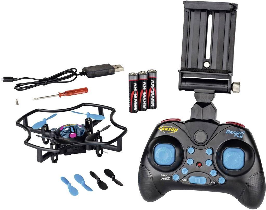 500507137 - Drone quadricoptère Carson Dragonfly FPV prêt à voler
