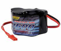 500608104 - Pack accu récepteur 6V/1600 mAh NiMH - Carson