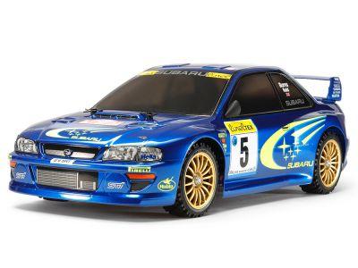 58631 - TT-02 kit à monter Subaru Impreza Monte-Carlo 99 GT - TAMIYA