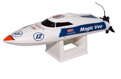 8106V5 - MAGIC VEE MICRO EP SPEED BOAT V5 RTS - JOSWAY
