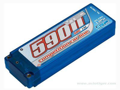 ACCU LIPO 5900 50C 7.4V Hardcase
