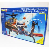 "AH-64D Apache ""100-Military Aviation\"" Revell"