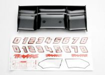 AILERON REVO FINITION EXO-CARBONE 1/10 + AUTOCOLLANTS