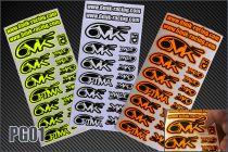 Autocollants 6MIK - PG01 - Pièces et Options 6Mik