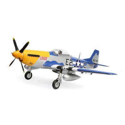 Avion E-Flite P-51D MUSTANG 1.5m BNF basic - EFL01250