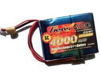 b-rx-4000-2s1p - LiPo 2S 7.4v 4000mAh reception 2S1P - Gens ace
