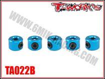 Bagues d\'arrêt de 3 mm bleues T-Work\'s (5)