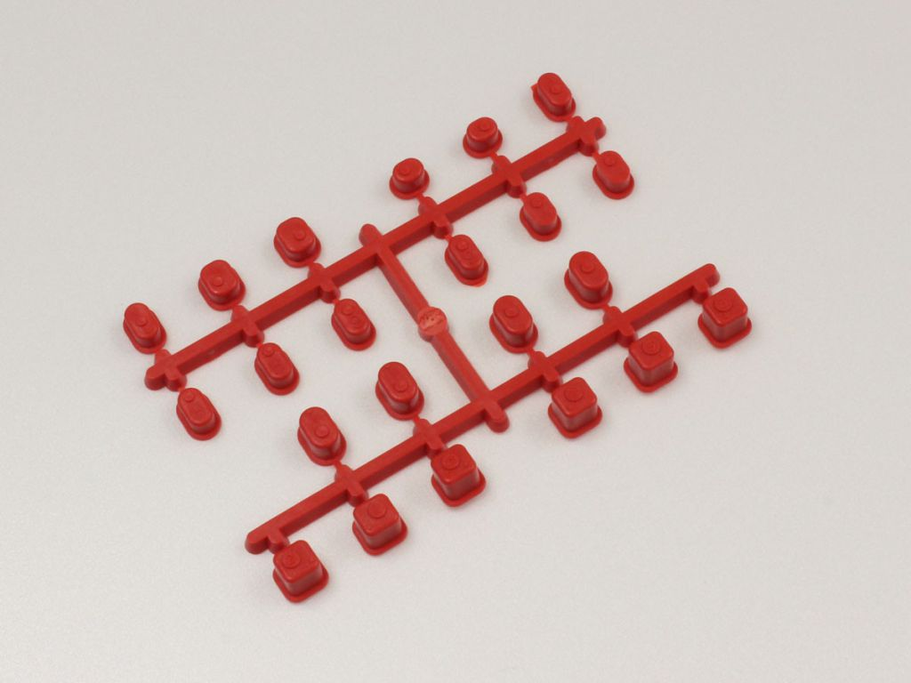 BAGUES DE SUSPENSION INFERNO MP9 / ROUGE
