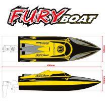 Bateau Funtek Furyboat type 450   2.4 ghz