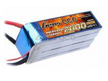 Batterie Gens ace lipo 6S 22.2V 2600mAh 45C prise EC5 - 218-B-45C-2600-6S1P