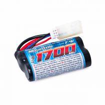 Batterie Li Ion  7.4V 1700mA 15C