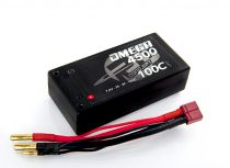 Batterie Lipo 2S Accu 4500 MAh Shorty 7.4V (PK 4mm) 50C5145000T