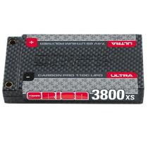 Batterie Lipo ORION 2 S Carbon Pro XS Shorty 3800-110c 7.4v - ORI14082