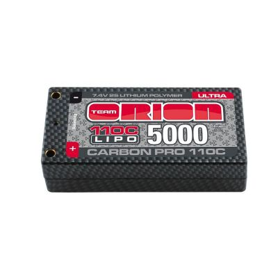 Batterie Lipo ORION 2S Carbon Pro Shorty ULTRA 5000-110c 7.4v - ORI14083