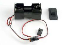 BATTERY HOLDER WITH ON/OFF SWITCH/ RUBBER ON/OFF SWITCH COVER