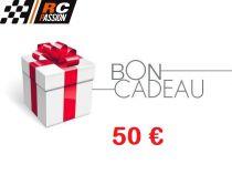 BC50 - CARTE ou CHEQUE CADEAU - BON d\'ACHAT - 50 eur