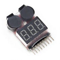 BEEBAC01- beeper / biper voltmetre avec alarme - 1 to 8s Lipo/Li-ion/NiMH/LiFe
