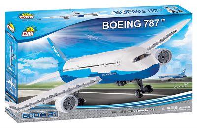 Boeing 787 - Blanc - 600 pièces - COBI 26600