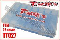 Boîte de Rangement TGM T-WORK\'S (28 Places)