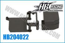 Boitier de reception & support de servo pour HB E817