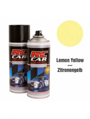 Bombe Pour Lexan Jaune Citron 150 ml - RCC020