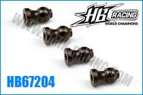 Boules de tirant intérieures légères (4) pour HB 817 - HB67204