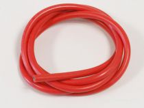 CABLE SILICONE 10AWG ROUGE 1M