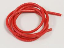 CABLE SILICONE 12AWG ROUGE 1M