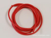 CABLE SILICONE 18AWG ROUGE 1M
