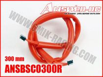 Cable silicone pour moteur Brushless sensor 300 mm ANSWER RC