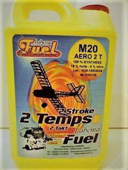 Carburant LABEMA Mplane 15 2T en bidon de 5L - MP15