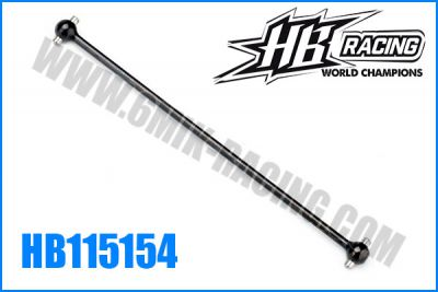 Cardan central ARR +4mm 129mm HB D815V2/D817
