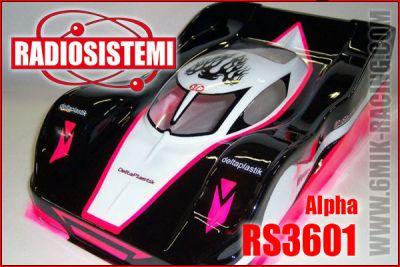 Carrosserie 1/8 GT8 - Sport-Proto - ALPHA