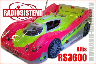 Carrosserie 1/8 GT8 - Sport-Proto - ALTIS