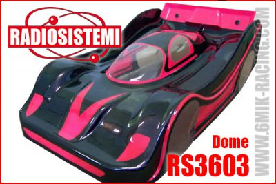 Carrosserie 1/8 GT8 - Sport-Proto - DOME