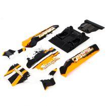 Carrosserie DB8SL Orange - Hobbytech - REV-SL050