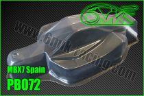 Carrosserie Lexan pour MUGEN MBX7-R Type SPAIN
