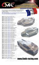 Carrosserie Lexan pour SERPENT SRX8