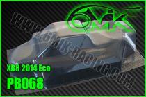Carrosserie Lexan pour X-RAY XB-8 ECO 2015