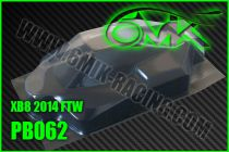 Carrosserie Lexan pour X-RAY XB8 2014 FTW