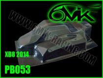 Carrosserie Lexan pour X-RAY XB8 2014